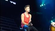 За първи път на живо! Justin Bieber - Hold Tight На живо