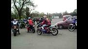 Pristigane na nqkolko pistaka na motosabor Burgas 2009