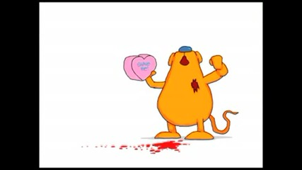Joe Cartoon - Gerbil Valentine