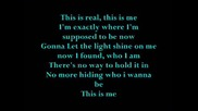 Camp Rock - This Is Me [lyrics]