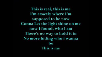 Camp Rock - This Is Me [lyrics]