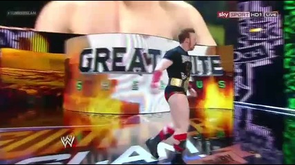 Wwe Summerslam 2012 Sheamus Vs Alberto Del Rio [ World Heavyweight Championship Match ]