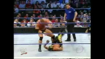 Еди Гереро, Букър Ти и Рей Мистерио срещу Орландо Джордан, Марк Жиндрак и Лутър Рейн