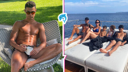 След EURO 2020: Кристиано Роналдо и семейството му се отдадоха на луксозна почивка