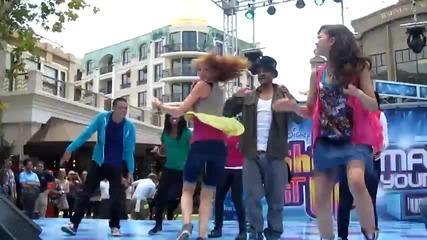 Shake It Up stars Zendaya Bella Thorne kick off Disneys Ultimate Dance-off