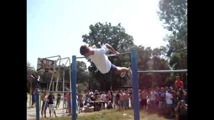 Efc Street Workout състезание София 2013- Цветомир Цонков