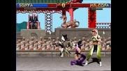 Mortal Kombat Trilogy Mugen Scorpion Vs Kung Lao / Johnny Cage Vs Jax / Sonya Vs Mileena