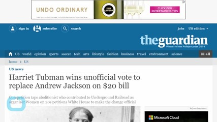 Tubman Topples Jackson for Monetary Replacement