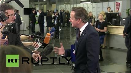 Latvia: PM Cameron eager to start EU reform talks ahead of 2017 referendum