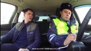 Руски полицаи ловят с дрон нарушители на пътя