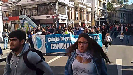 Chile: Student protest ends in violence