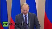 Russia: Putin meets Russian IWAS team in Sochi