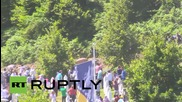 Bosnia and Herzegovina: Serb PM attacked with stones at Srebrenica memorial