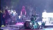 Jonas Brothers - Much Better ( Джо променя текста в началото)(на живо от Тълса,  Оклахома)