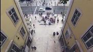 Как в Лисабон са накарали пешеходците да Не пресичат на червено