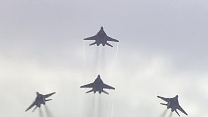 Russia: Jets perform heart-stopping aerial stunts at Army-2018 expo