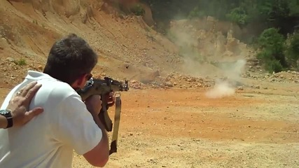 Стреляне с Ak - 47 [ H D 720p ]