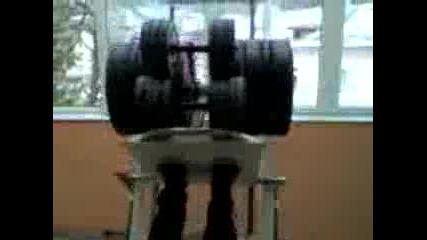 legpresa 250kg Rudozem