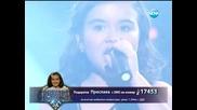 Преслава Петрова (песен на чужд език) - Големите надежди финал - 04.06.2014 г.