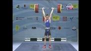 Иван Марков спечели сребърен медал до 85 кг на европейското по щанги