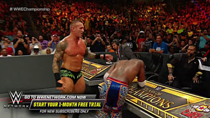 Randy Orton slams Kofi Kingston into the announce table: Clash of Champions 2019 (WWE Network Exclusive)