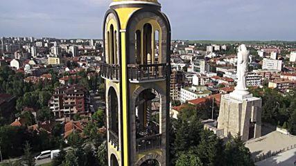 Град Хасково - обиколка с дрон