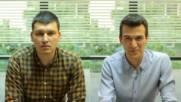#азсъмплюседин с Александър Балтаджиев и Александър Найденов