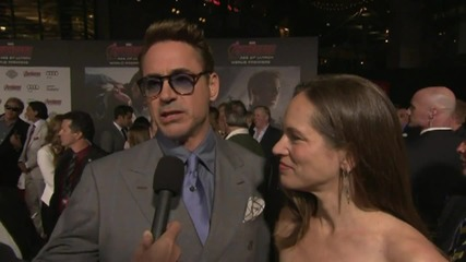 Avengers: Age Of Ultron World Premiere: Robert Downey Jr.