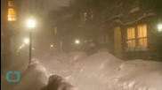 Still Snow on the Ground in Boston