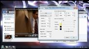 Mplayer - субтитри - редактиране - част 3 - открояваща черна лента.