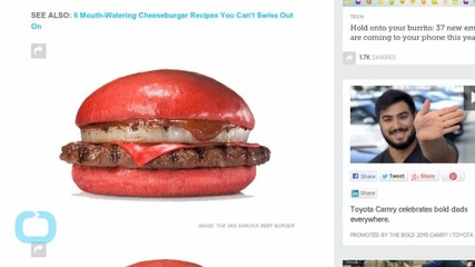 Burger King Prepares Second Colored Bun for Japanese Market