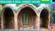 Hobbit house timelapse: A house from sticks and mud