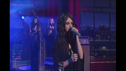 Selena Gomez - Come And Get It - David Letterman