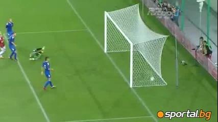Висла Краков - Сконто Рига 2:0 - Sportal.bg