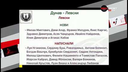 Левски стартира в efbet Лига с тежко гостуване в Русе
