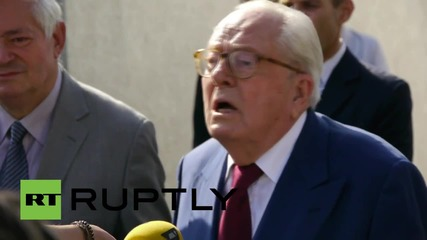France: Jean-Marie Le Pen faces Front National disciplinary council