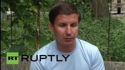Ukraine: AFP reporter injured in Donetsk shelling speaks out