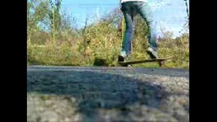 Skate - kickflip - 2 az