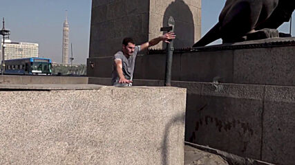 Pyramids to pavements: Egyptian parkour enthusiast conquers Cairo's terrain
