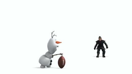Disney's Frozen - Football Kick