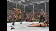 6 man Hell in a Cell - Wwf Championship - Armageddon 2000