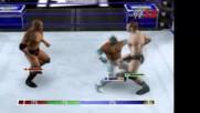 Wwe 12 Live Скалата срещу Шеймъс срещу Рей Мистерио срещу Кейн