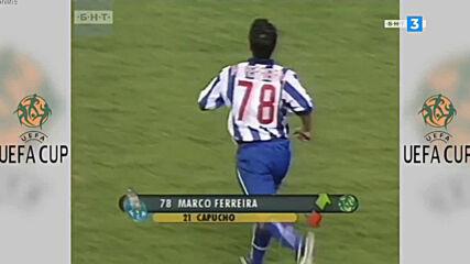 Порто - Селтик Купа на Уефа Финал 2003 втора част
