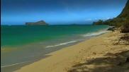 Hd Релаксация - Оаху плажове - природа звуци - Оаху
