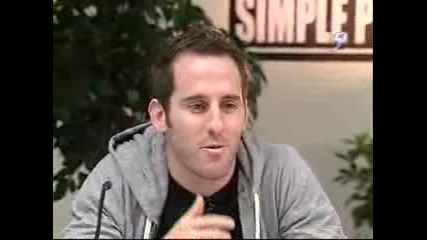 Simple Plan - Presconference (the Noose funny)