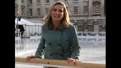 Журналистка На Ледена Пързалка