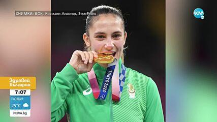 Бабата и дядото на Ивет Горанова: Искаше този медал и го взе