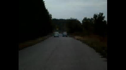 Москвич 408и И Москвич 407 - Драг!!!