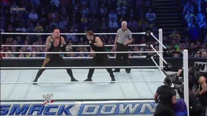 Най-бруталната атака на The Shield !!