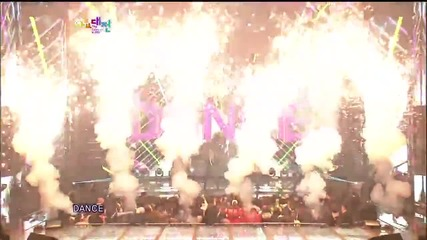 121229 Bigbang - One Of A Kind Crayon Fantastic Baby @ Sbs Gayo Daejun 2012